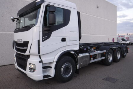Iveco X-WAY AS340X57 8x4x4 (1+3), HMF opbygning