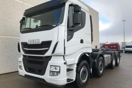 Iveco X-WAY AS340X57 8x4x4 (2+2) SAWO opbygning